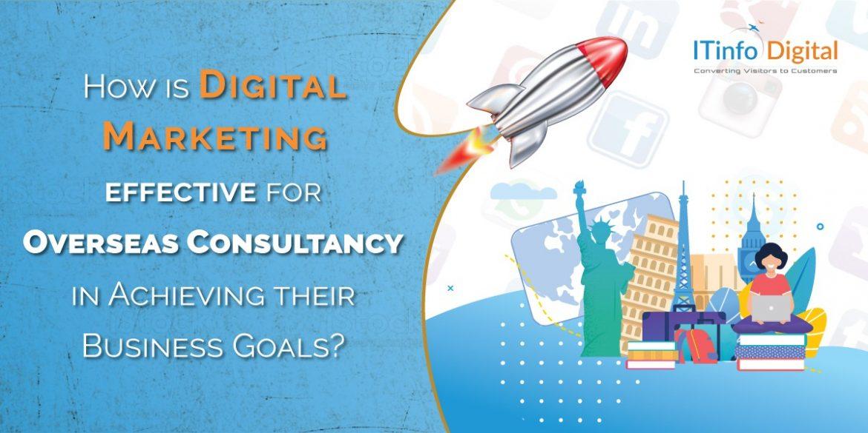 Digital Marketing for overseas consultancy